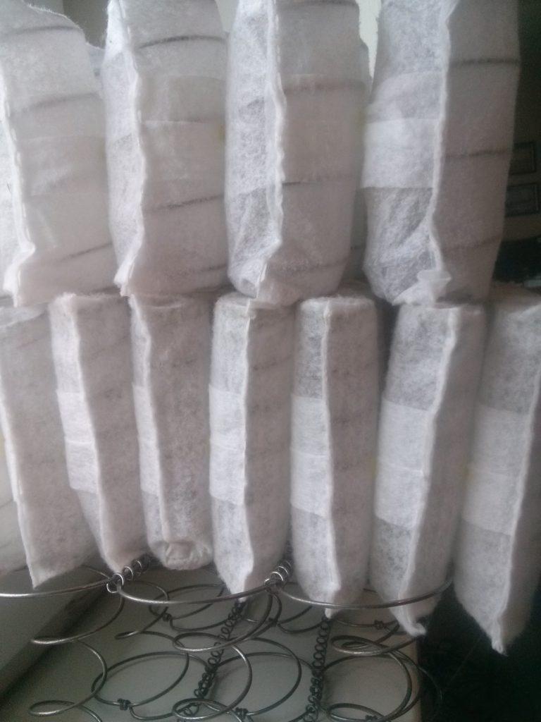 Пружинные блоки различной плотности