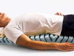 Физиологическое положение позвоночника в позе на спине
